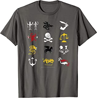 Uncharted Pirate Icons T-shirt