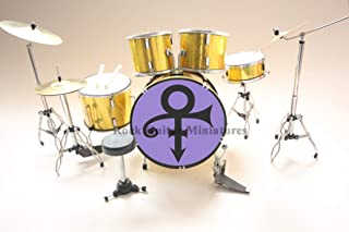 RGM372 Prince Purple Rain Miniature Drum Kit