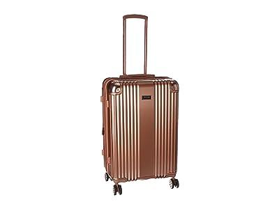 Kenneth Cole Reaction Tribeca 24 Expandable 8-Wheel Upright (Rose Gold) Luggage