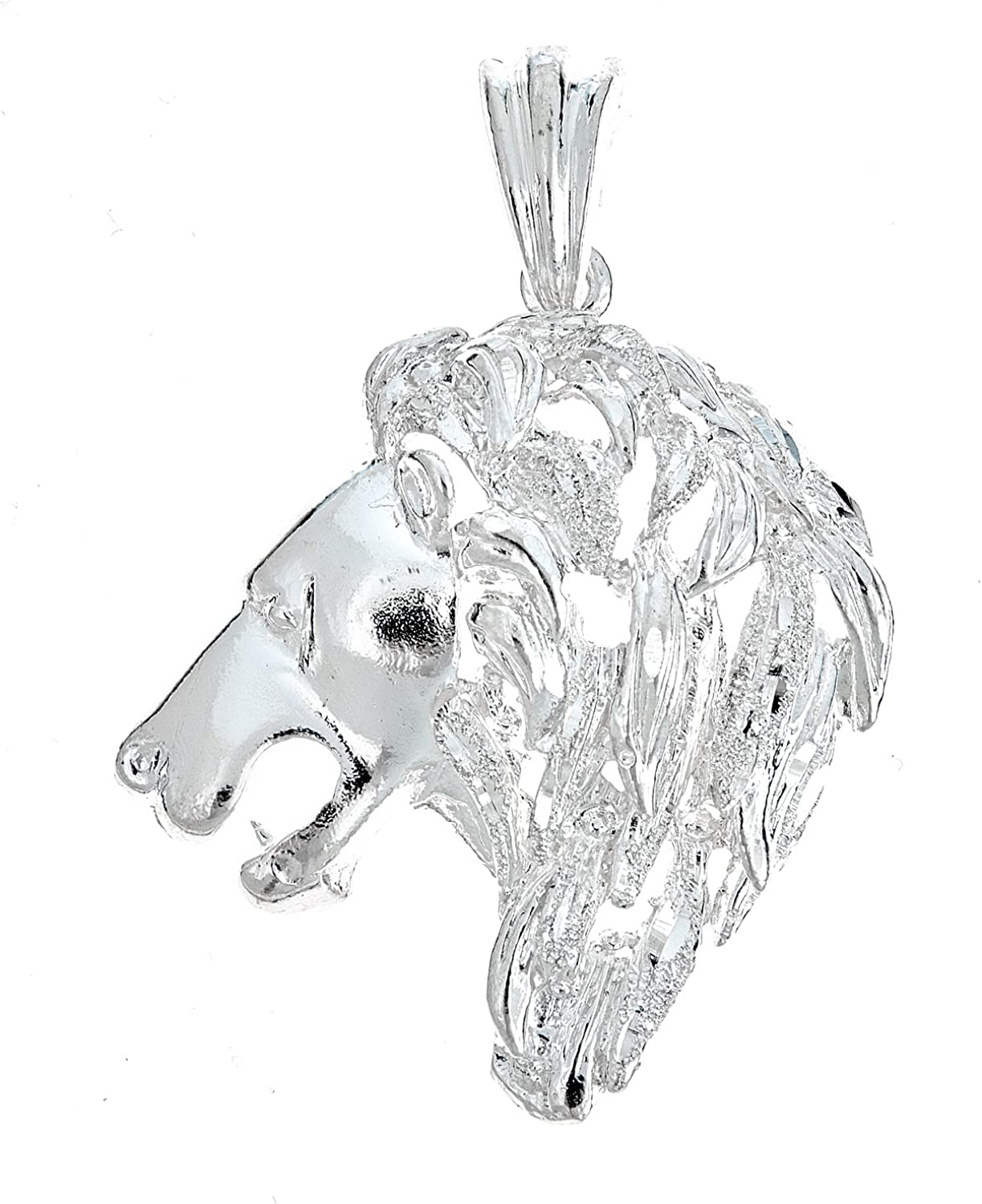 .925 Sterling Silver Powerful 13 grams Max 67% New Free Shipping OFF Lion Pendant