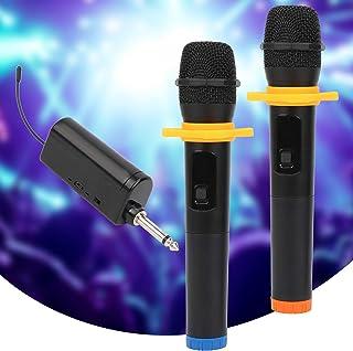 Wireless Microphone, Home Audio Video Equipment Professional Wireless Microphone, Cordless Mic Set Wireless Dual Handheld ...