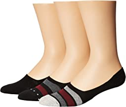 3-Pack Shoe Liners - Stripes