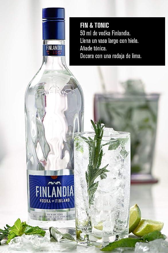 Finlandia Vodka - 700 ml: Amazon.es: Alimentación y bebidas