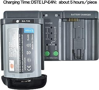 DSTE® LP-E4N(10.8V/3350mAh) Batería + DMH26A 3-in-One Power Batería Cargador Compatible para LP-E19 Canon EOS-1D X Mark II,EOS-1D X,EOS-1D Mark IV,EOS-1Ds Mark III,EOS-1D Mark III Cámara