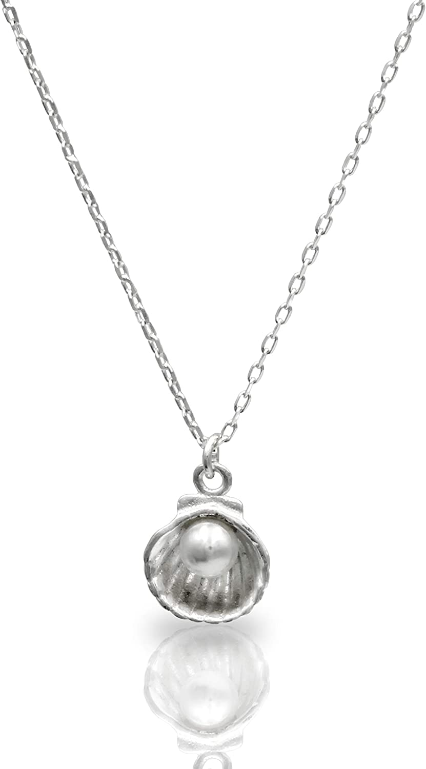 GGOMJI 925 Sterling Silver Hypoallergenic Statement Necklace with Chain for Women