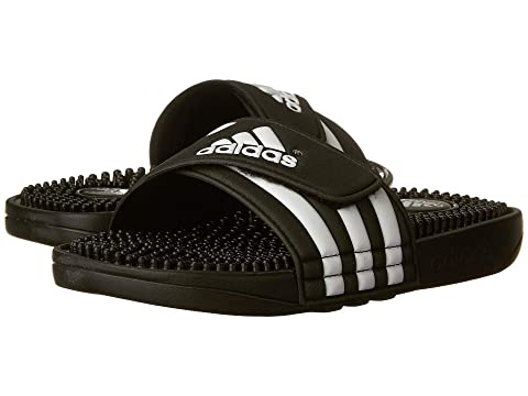 ccdd5b2a764a adidas Kids Adissage K Core (Toddler Little Kid Big Kid) at Zappos.com