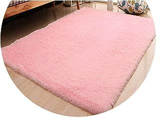 Show-Show-Fashion Shop&Home Living Room/Bedroom Carpet Modern Soft Antiskid mat Purple Gray Grey Pink Blue Color 400MM800MM,Pink,400mm x 600mm