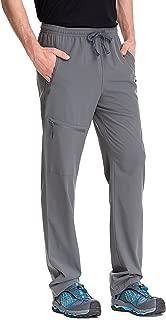 Best men's activewear pants with pockets zipper Reviews