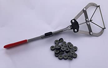 XL Castration Bander. Includes 25 Bands for Cattle, Sheep, Goats and Other Livestock. Other uses May pertain
