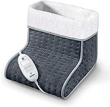 Beurer FW 20 Cosy voetenwarmer, elektrische voetverwarming met 3 temperatuurstanden en automatische uitschakelfunctie, mac...