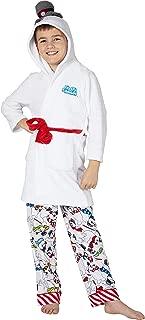 Frosty The Snowman Big Kids Hooded Plush Robe