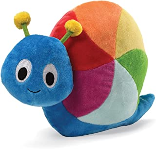"GUND Colorfun Learning Color Snail Animated 7"" Plush"