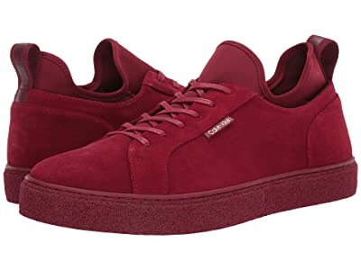 Calvin Klein Ellison Hi (Barn Red Suede/Neoprene) Men
