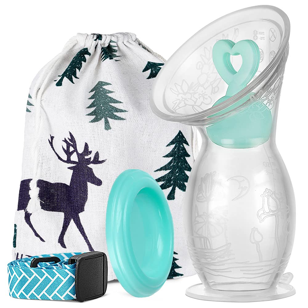 BumbleBee Year-end annual account Manual Breast Pump specialty shop with 110ml 4oz Silico Base Suction
