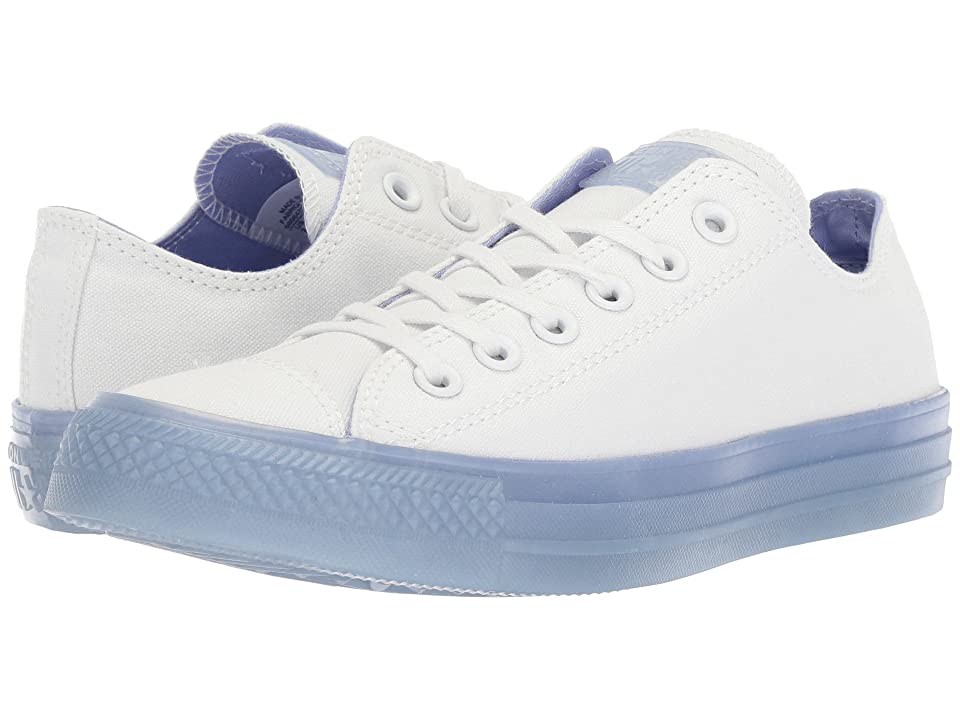 Converse Chuck Taylor(r) All Star(r) Ox Jelly (White/Twilight Pulse/Twilight Pulse) Women
