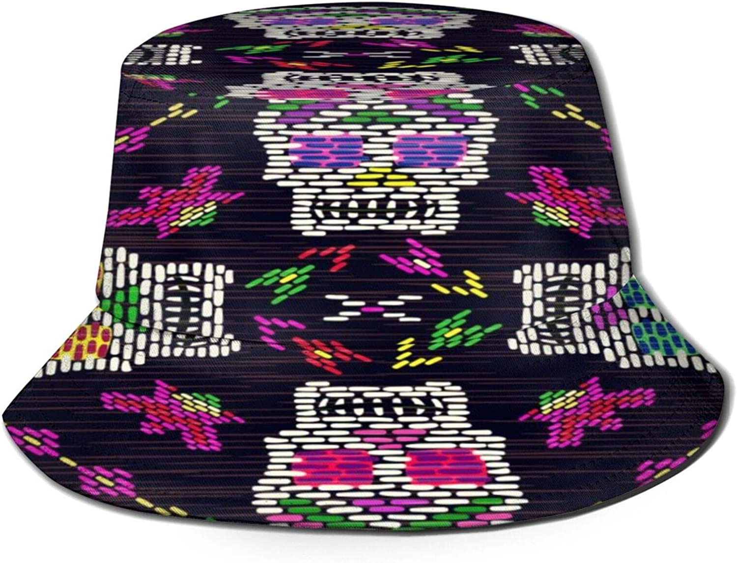 Mexican Skull Day of The Dead Hat Bucket Sun free shipping P Summer Oklahoma City Mall Unisex