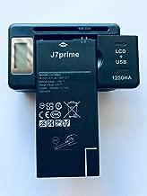 Replacement 1X Battery + 1X USB LCD Charger for Samsung BG610 Galaxy J7 2018 J7 Refine J7 V 2ND GEN J7 Star J7 Aura J737 J737A J737V J737P J737T EB-BG610ABA 3300 MAH