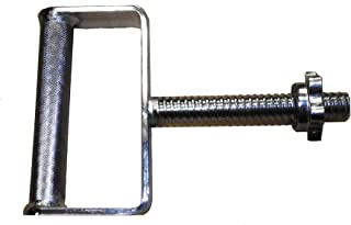 TDS C-0290 Extra Wide Threaded Kettlebell Handle - Chrome Plated Solid Steel with Knurled Grip
