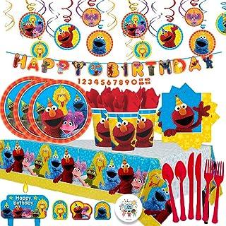 Amazon Com Sesame Street Party Supplies Toys Games