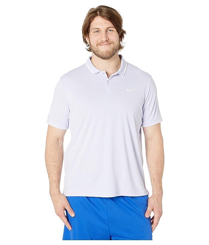Nike NikeCourt Dry Polo Team (Oxygen Purple/White/Oxygen Purple) Men