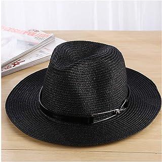 Fashion Sun Hat for Women Men Sun Hat Summer Hats Unisex Straw Beach Panama Hat Bucket Hat Chapeau Femme Homme Travel Vacation Seaside Suitable for hot Weather Season