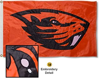 Oregon State University Embroidered and Stitched Nylon Flag