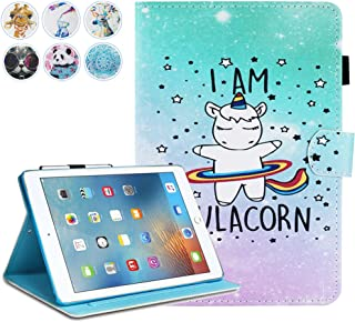 iPad Mini Case, Mini 2 3 4 Mini 5 Case Cover, MonsDirect Leather Smart Kickstand Case Flip Wallet Protective Case Compatible with Apple iPad Mini 1 2 3 4 Mini 5 2019, Hulacorn