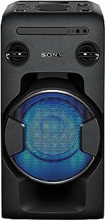 Sony 索尼One Box 音响系统 表现出色(470兆瓦的输出功率,超低音,FM收音,CD,USB,蓝牙,NFC功能)黑色