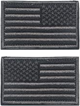 subdued american flag patch velcro