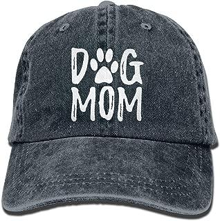 OASCUVER Denim Fabric Adjustable Dog Mom Fashion Baseball Cap