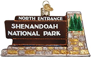 Old World Christmas Shenandoah National Park Glass Ornament 36258 FREE BOX New