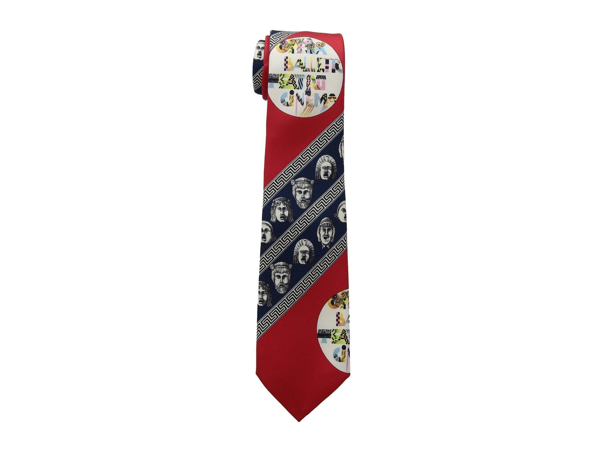 Corbata para Hombre Versace Printed Tie  + Versace en VeoyCompro.net