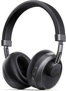 AUKEY Cascos Bluetooth Inalámbricos, Hi-Fi Estéreo Auriculares Inalámbricos Plegables, Type-C Cascos Bluetooth Inalámbrico...