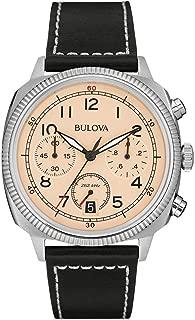Men's 96B231 Analog Display Quartz Black Watch