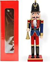 JEFEE 12-Inch Wooden Christmas Nutcracker, Christmas Decorations Gifts Nutcracker Puppets, Trumpeter
