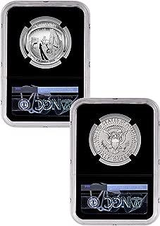 2019 S Apollo 11 50th Anniversary Set Half Dollar  NGC PF70  UC ER Clad