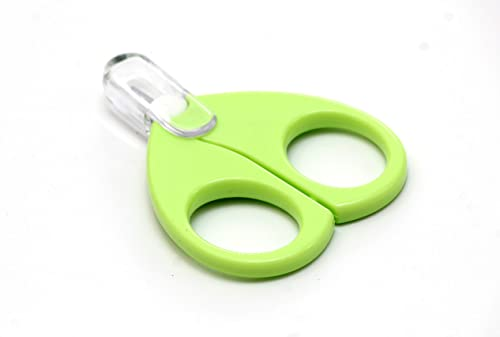 Rikang Baby Safety Scissors with Circular Cutter Head (Assorted Color) product image