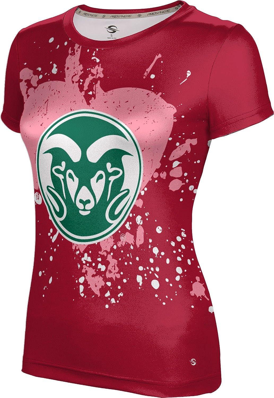 ProSphere Colorado State University Valentine's Day Girls' Performance T-Shirt (Heart)