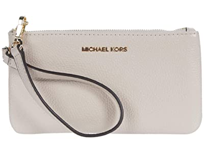 MICHAEL Michael Kors Jet Set Medium Wristlet (Soft Pink) Handbags