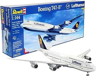 ドイツレベル 1/144 ボーイングB747-8 プラモデル