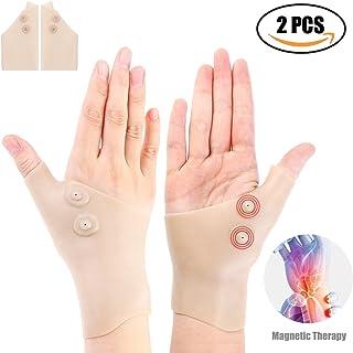 2 Gel Wrist Thumb Support Braces Waterproof Breathable