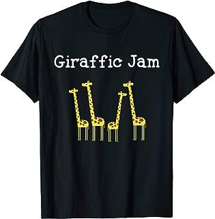 Giraffic Jam Safari Giraffe T Shirt