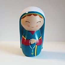 Shining Light Dolls St. Bernadette Soubirous Collectible Vinyl Doll with Story and Prayer Card