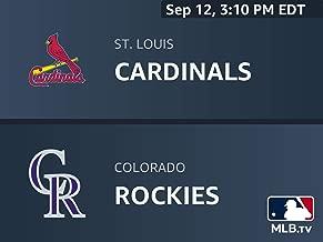 St. Louis Cardinals at Colorado Rockies