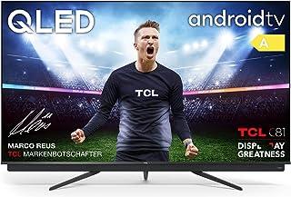 TCL 75C815 - Televisor 75 pulgadas QLED 4K UHD, Android TV, Barra de Sonido Onkyo, Micro Dimming Pro, Google Assistant, Co...