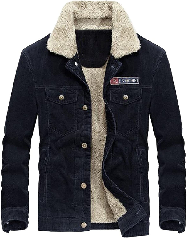 0b1a5b705138e Coolred-Men Jackets Jackets Jackets Loose Stand Collar Coat corduroy  Windbreakers b69274