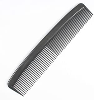 Dynarex Adult Combs, 5 Inches, Black, 180 Count (Pack of 12)