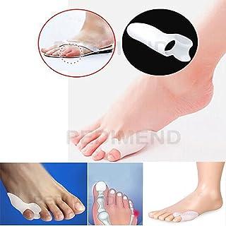 Protector de gel de silicona para dedo meñique Pedimend, alivio de juanetes y callos, separador, protector, enderezador, previene la fricción y los roces
