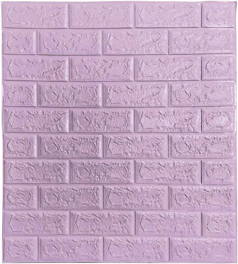 nozama unisex 3D Wall Panels 10Pcs Brick Self-Adhesive cheap Waterproof
