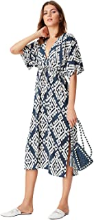 Women's Printed Long Maxi Beach Dress/Swimsuit Cover Up